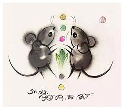 两只小老鼠